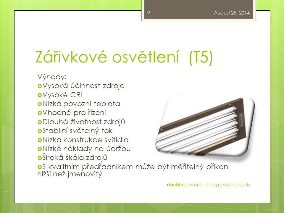 Zářivkové osvětlení (T5)