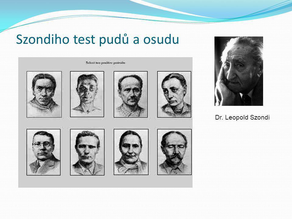Szondiho test pudů a osudu