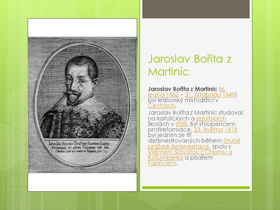 Jaroslav Bořita z Martinic