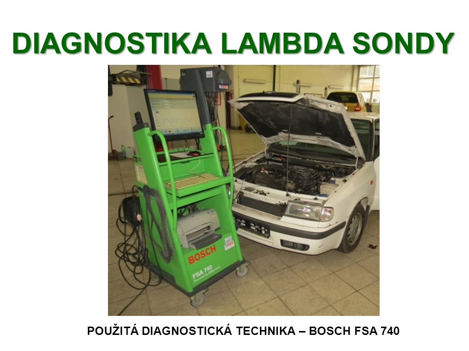 DIAGNOSTIKA LAMBDA SONDY