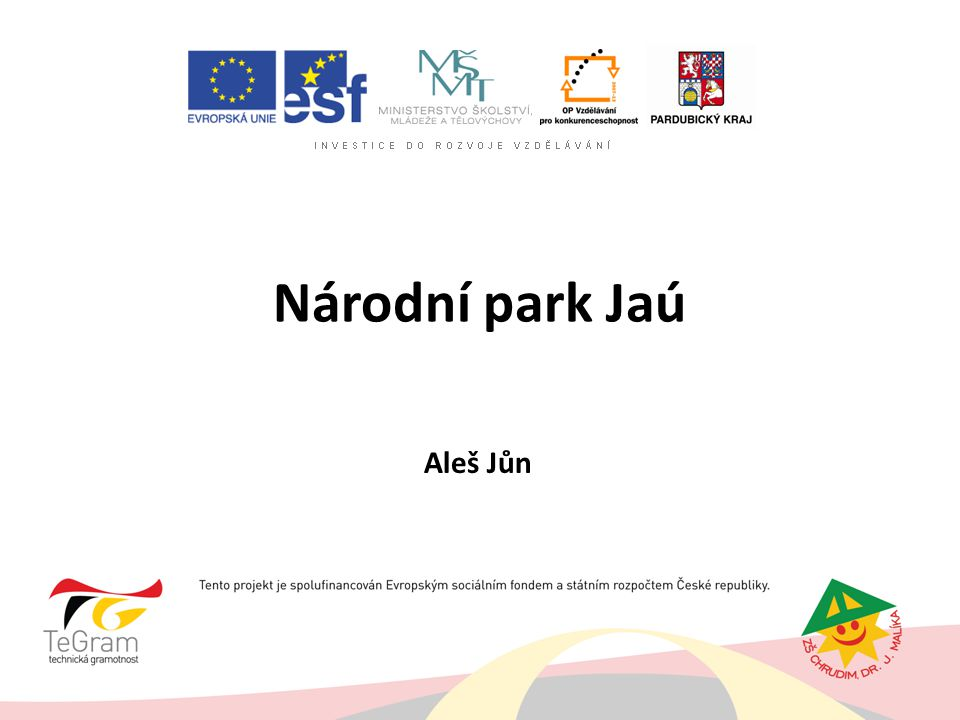 Národní park Jaú Aleš Jůn