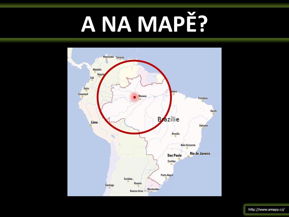 A NA MAPĚ Brazílie http://www.amapy.cz/