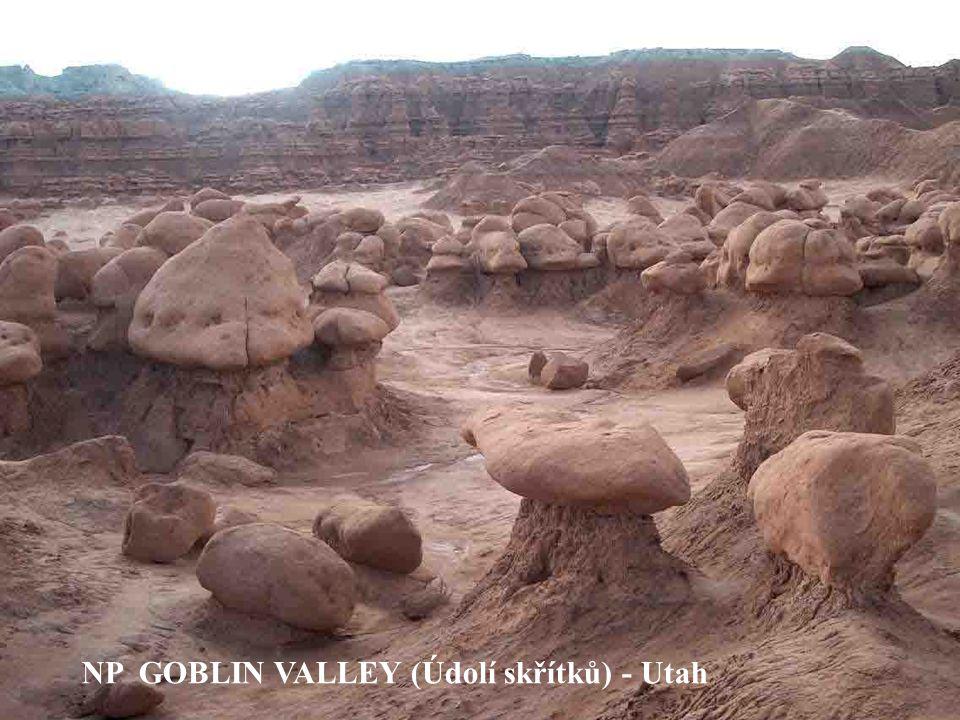 NP GOBLIN VALLEY (Údolí skřítků) - Utah
