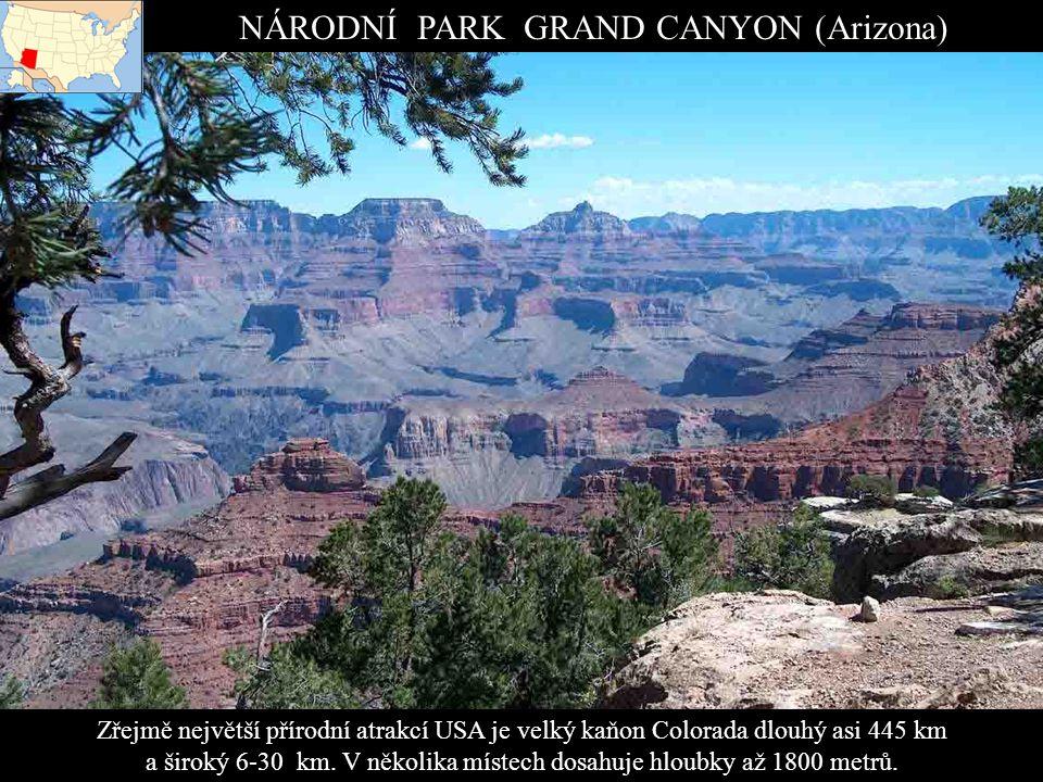 NÁRODNÍ PARK GRAND CANYON (Arizona)