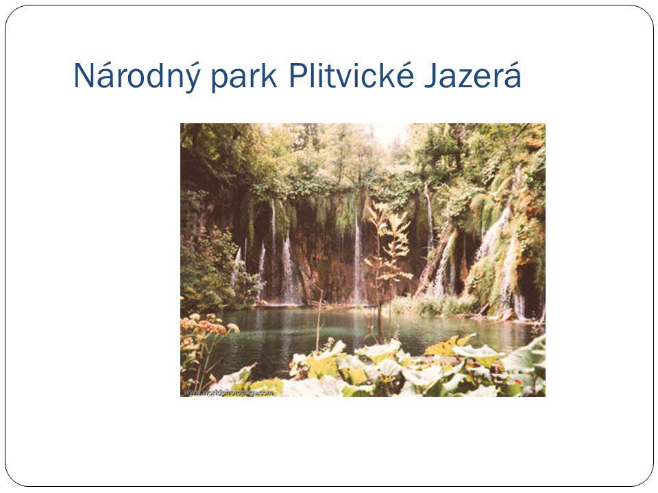 Národný park Plitvické Jazerá