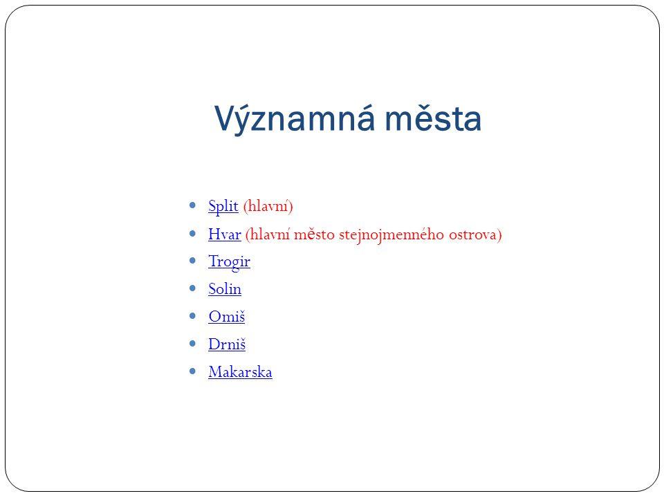 Významná města Split (hlavní)