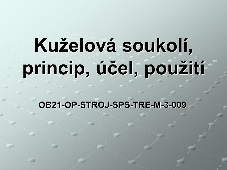 Kuželová soukolí, princip, účel, použití OB21-OP-STROJ-SPS-TRE-M-3-009