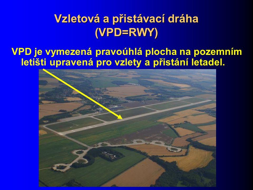 Vzletová a přistávací dráha (VPD=RWY)