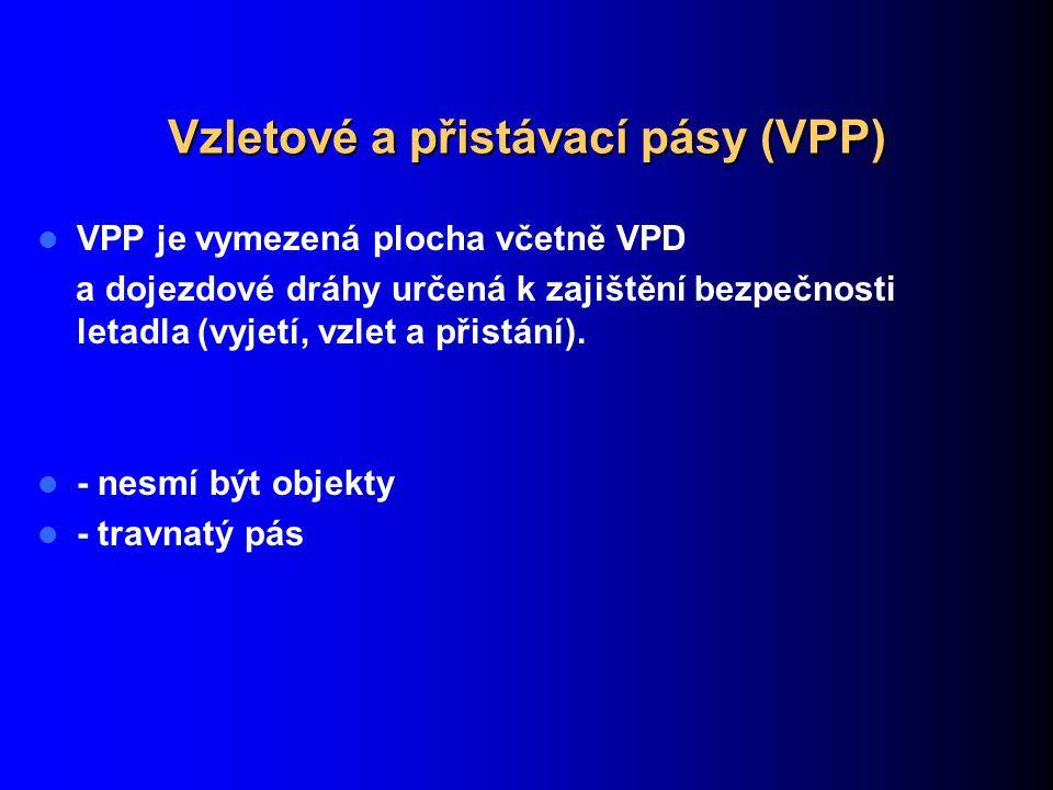 Vzletové a přistávací pásy (VPP)