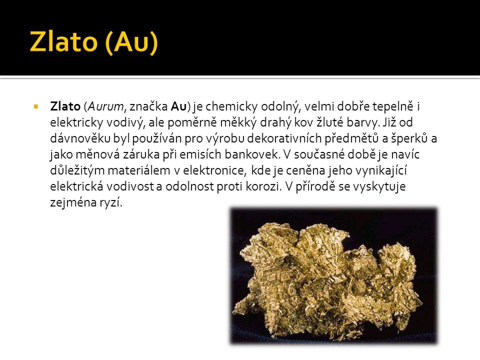 Zlato (Au)