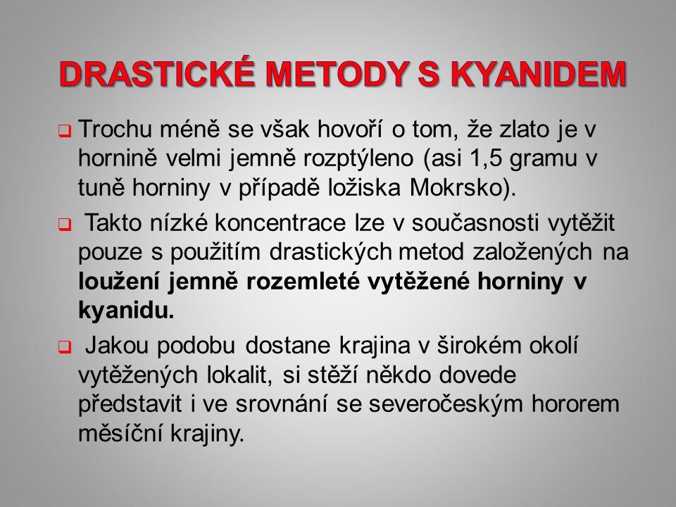Drastické metody s kyanidem
