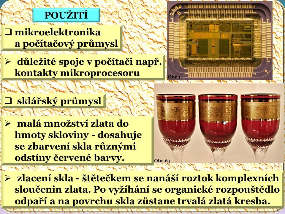 mikroelektronika a počítačový průmysl