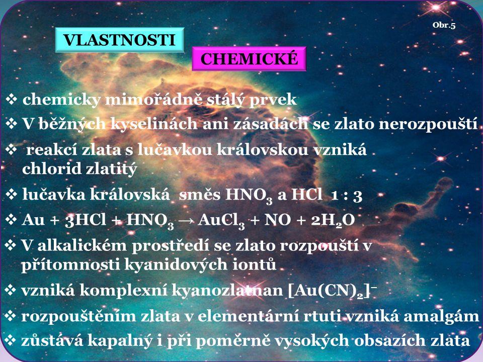 chemicky mimořádně stálý prvek