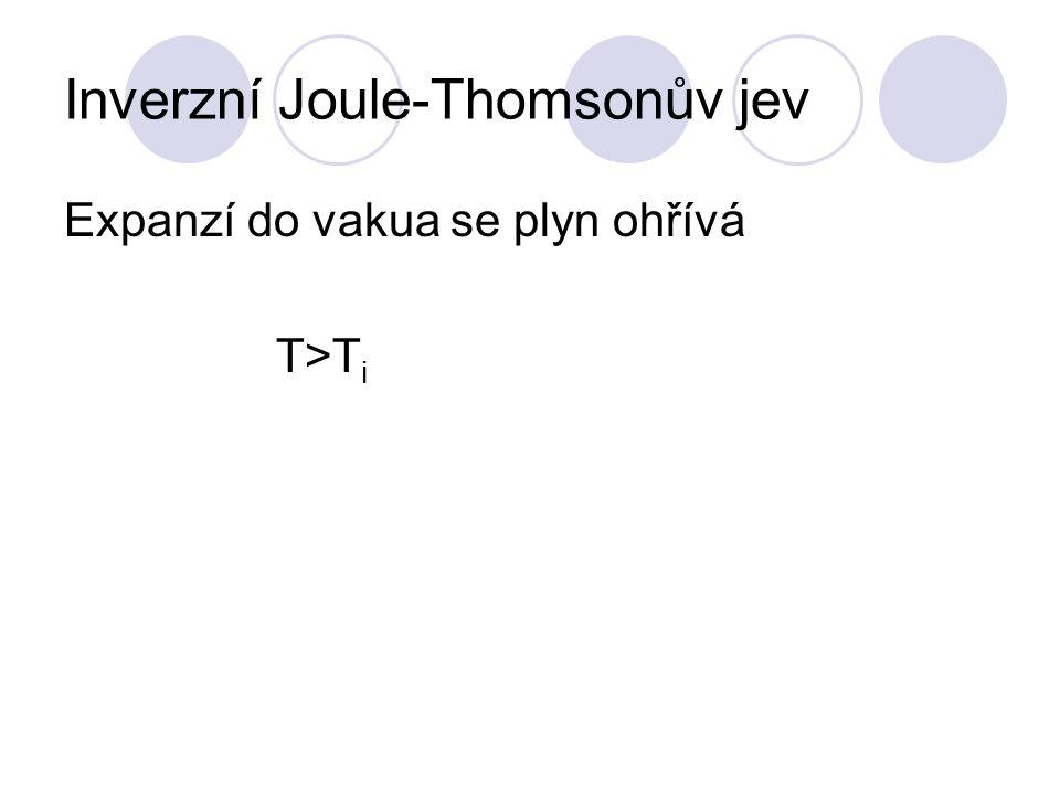 Inverzní Joule-Thomsonův jev