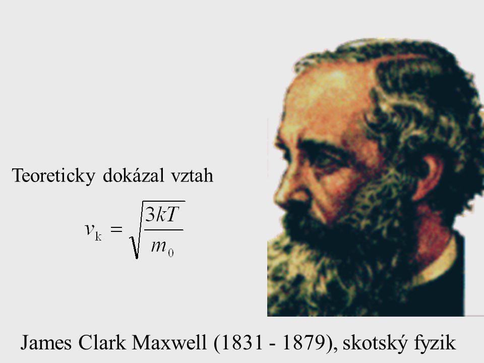 James Clark Maxwell (1831 - 1879), skotský fyzik