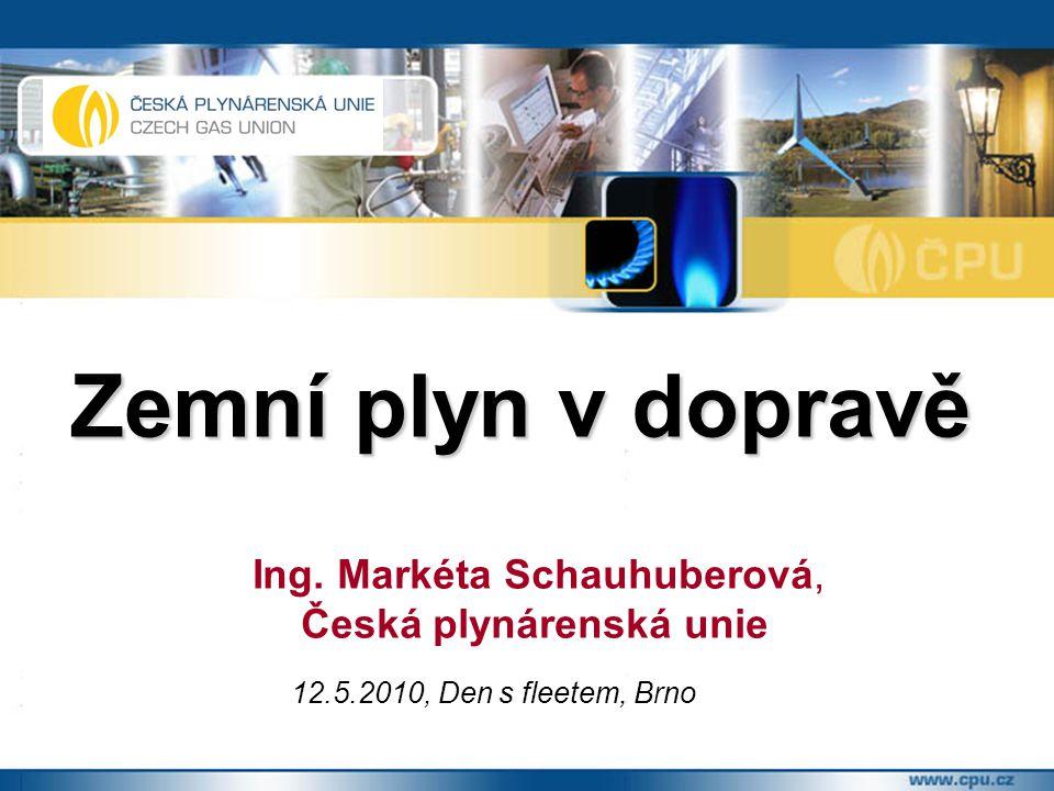 Zemní plyn v dopravě Česká plynárenská unie