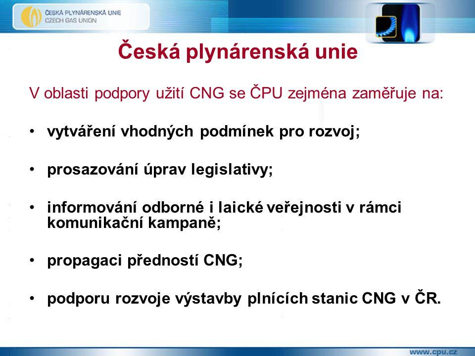 Česká plynárenská unie