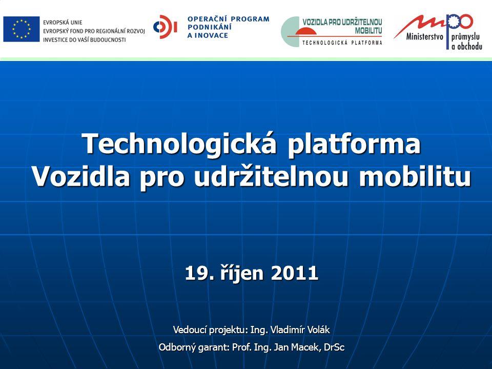 Technologická platforma Vozidla pro udržitelnou mobilitu