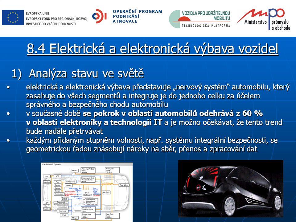 8.4 Elektrická a elektronická výbava vozidel