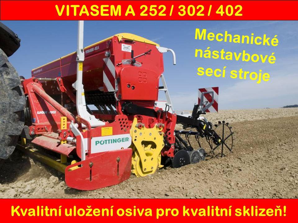 Mechanické nástavbové secí stroje