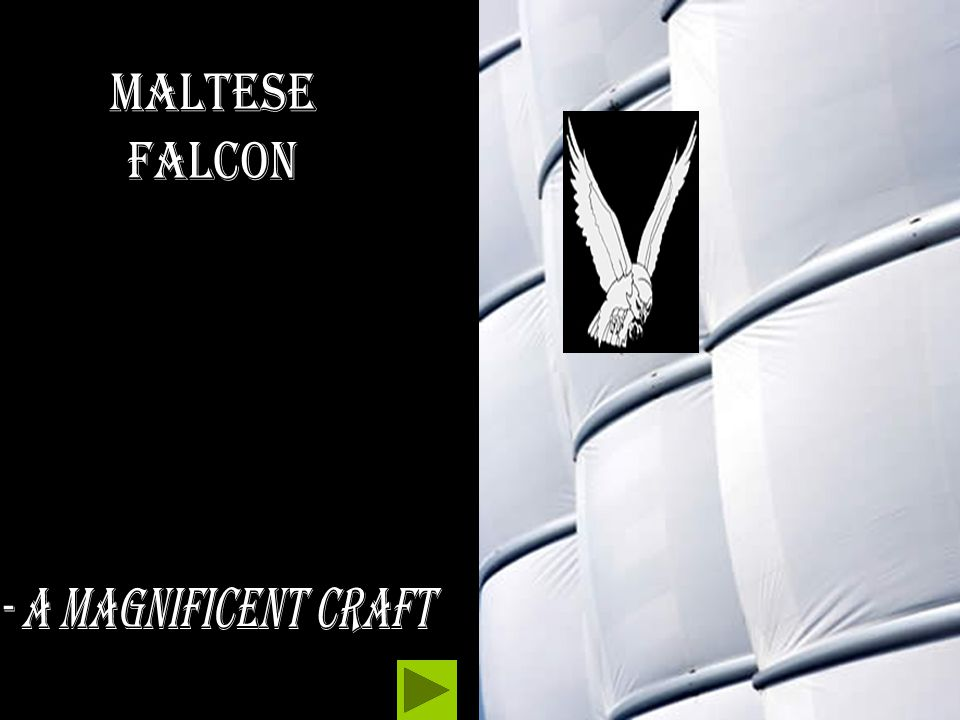 Maltese Falcon - A magnificent craft