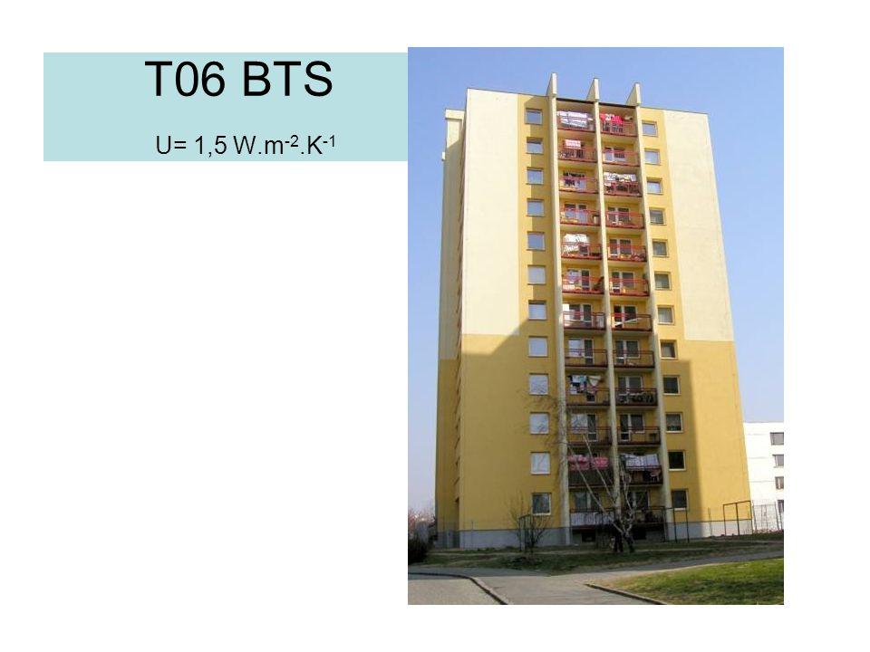 T06 BTS U= 1,5 W.m-2.K-1