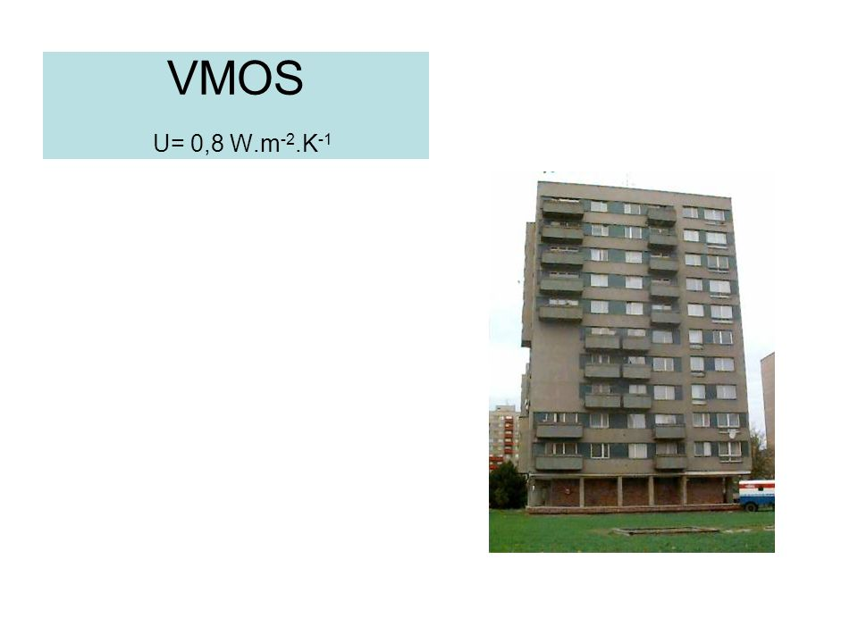 VMOS U= 0,8 W.m-2.K-1