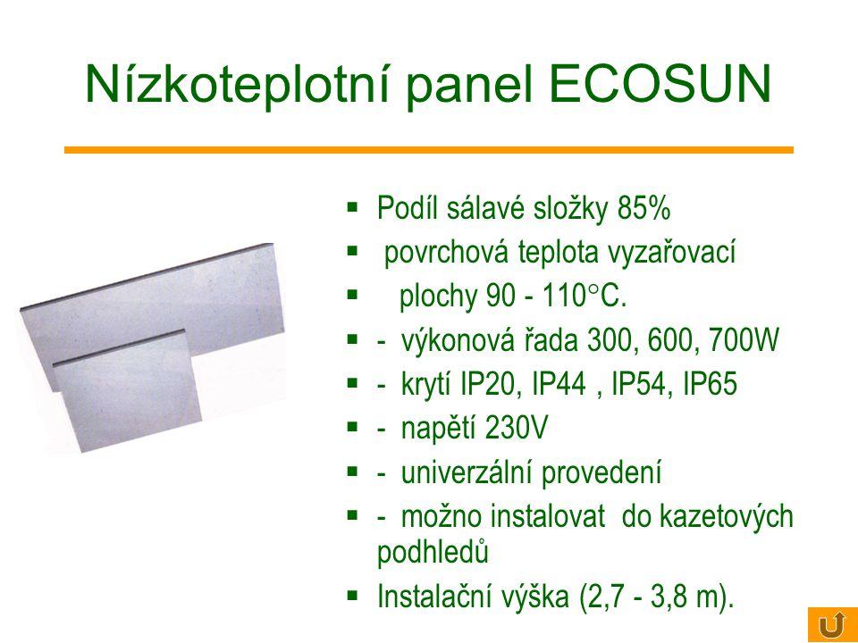 Nízkoteplotní panel ECOSUN