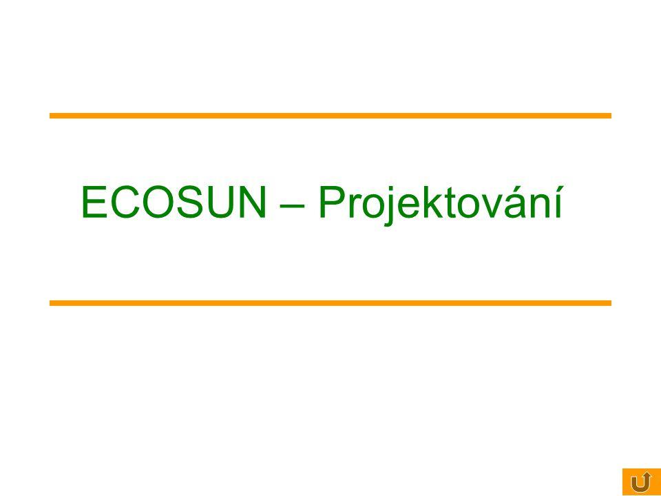 ECOSUN – Projektování