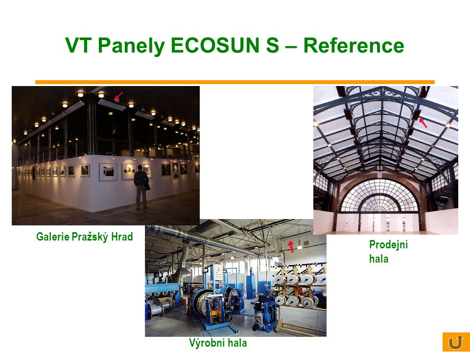VT Panely ECOSUN S – Reference