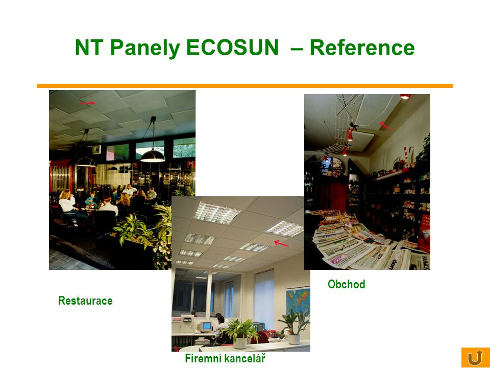 NT Panely ECOSUN – Reference