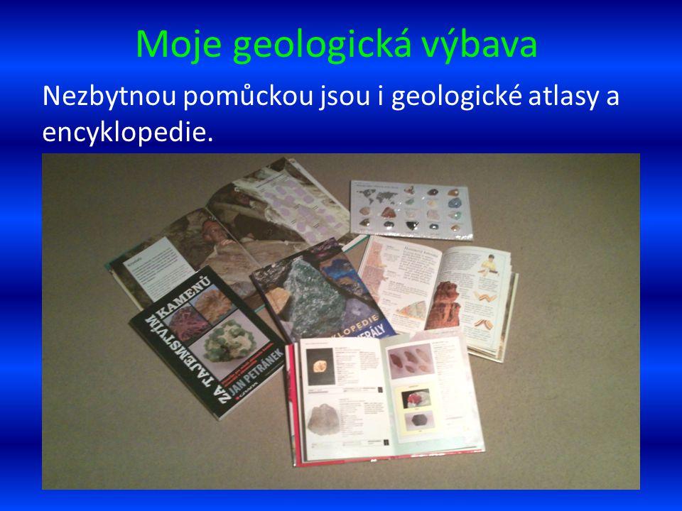Moje geologická výbava
