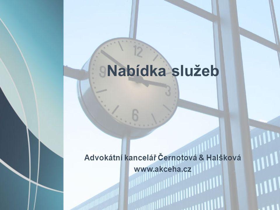 Advokátní kancelář Černotová & Halšková
