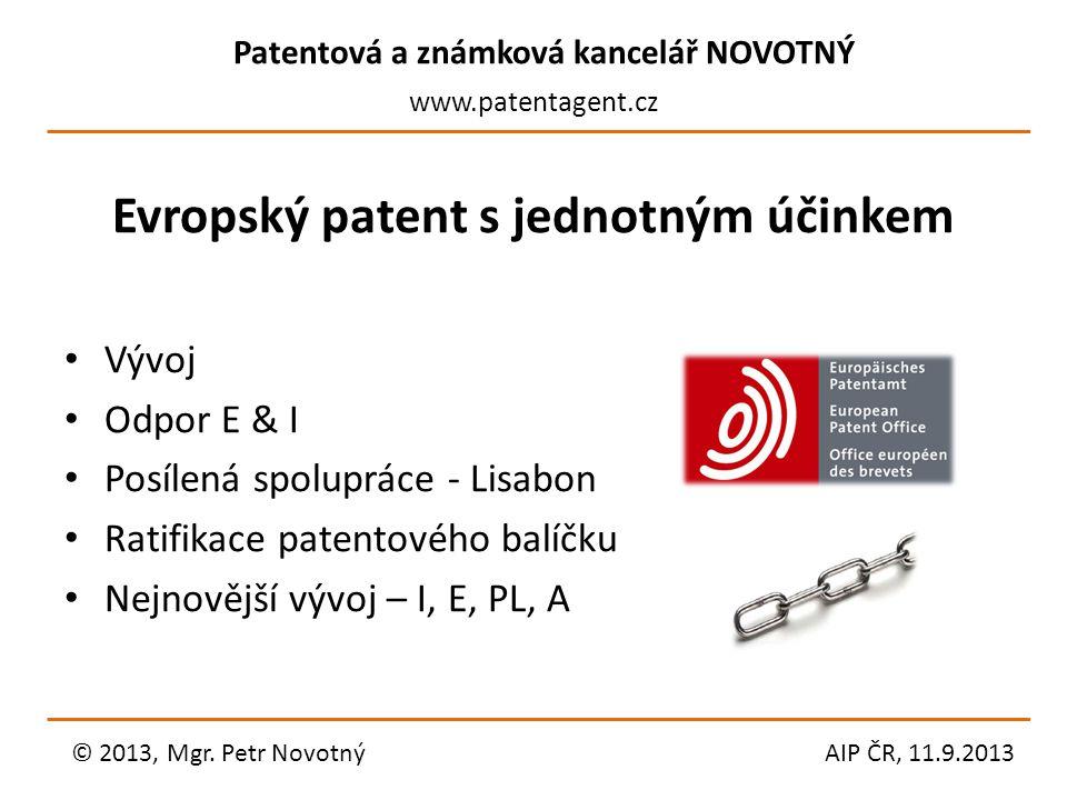 Evropský patent s jednotným účinkem