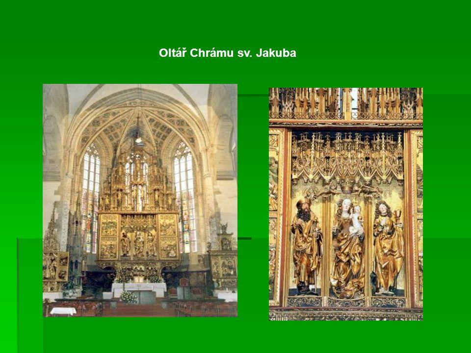 Oltář Chrámu sv. Jakuba