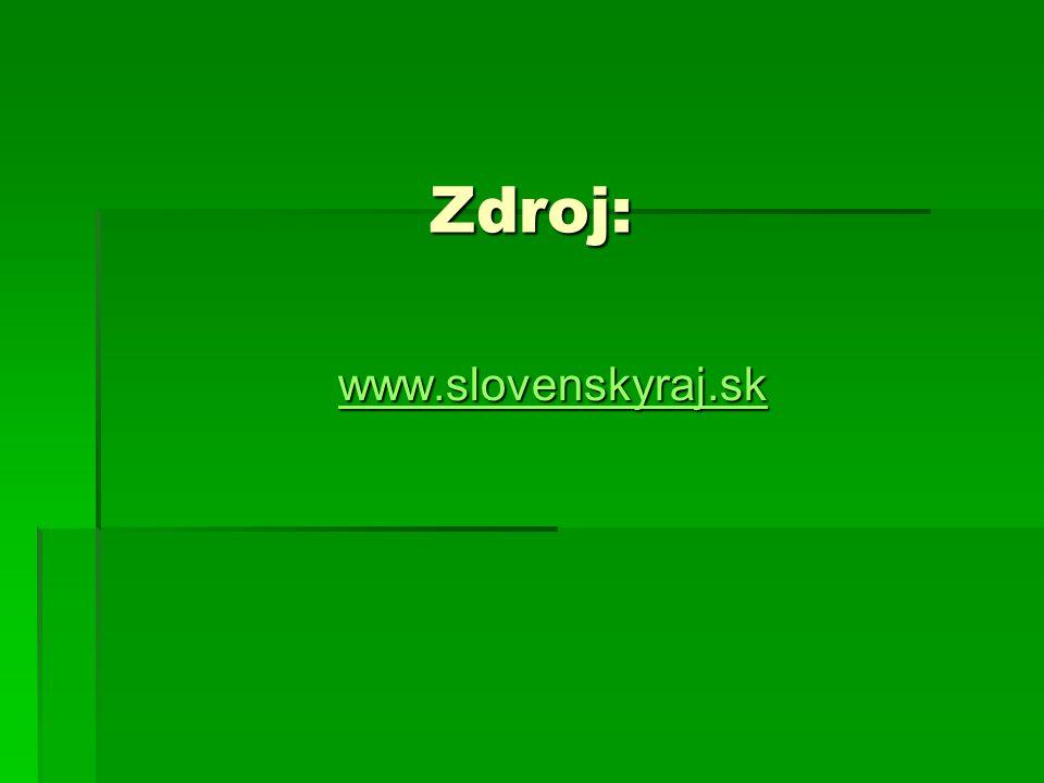 Zdroj: www.slovenskyraj.sk