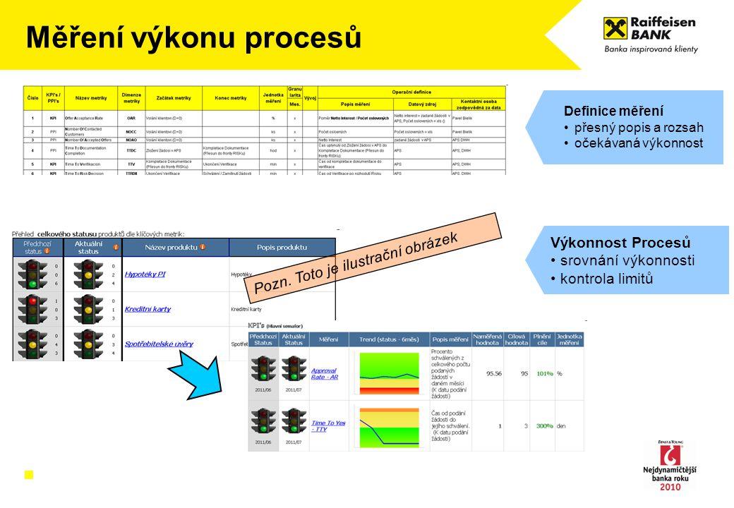 Měření výkonu procesů Výkonnost Procesů