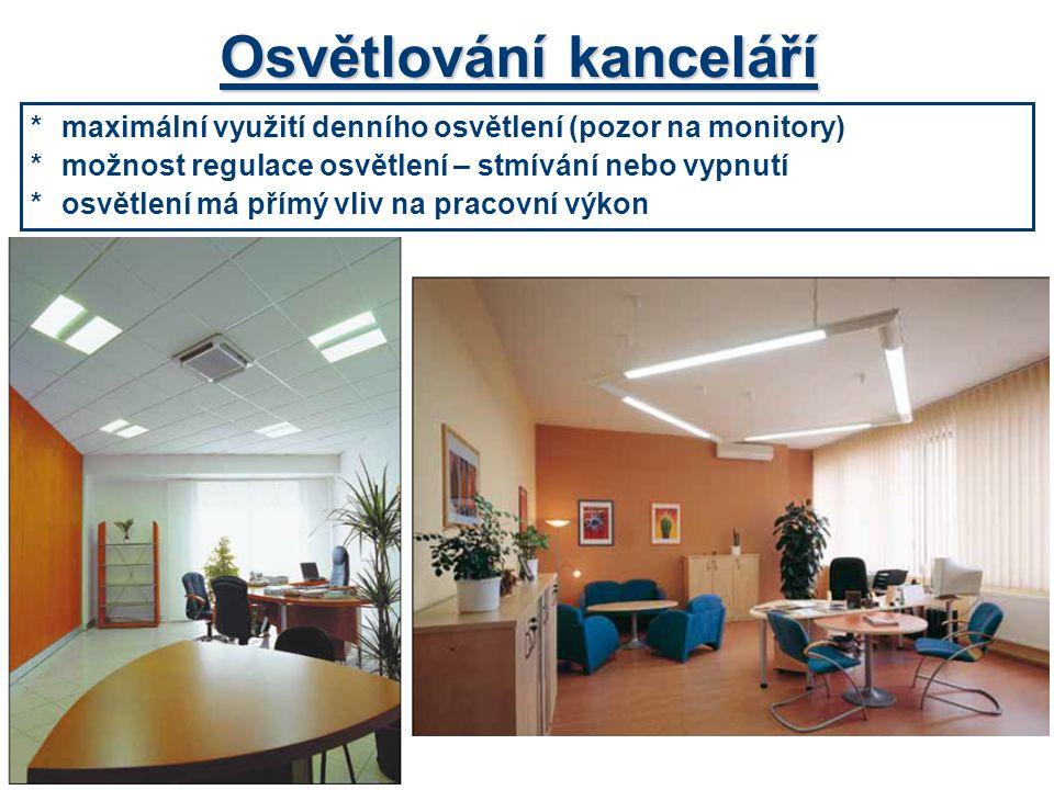 Osvětlování kanceláří