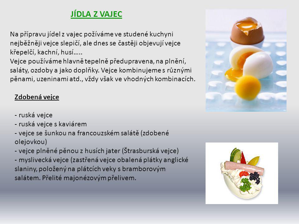 Jídla z vajec