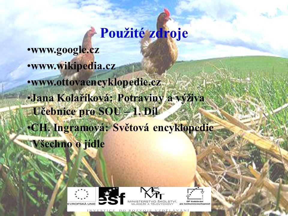 Použité zdroje www.google.cz www.wikipedia.cz
