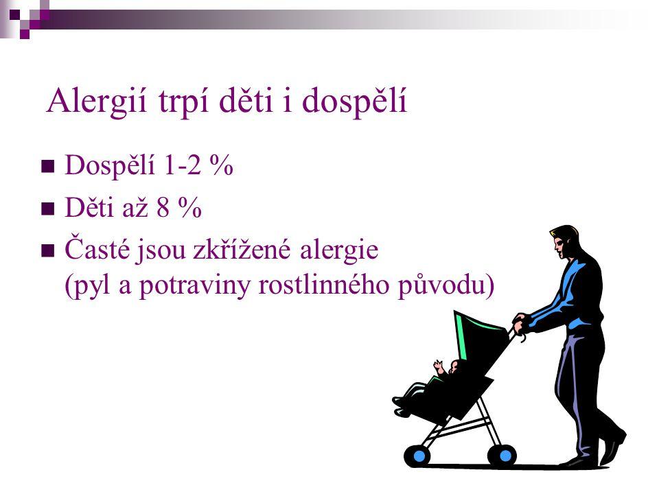 Alergií trpí děti i dospělí