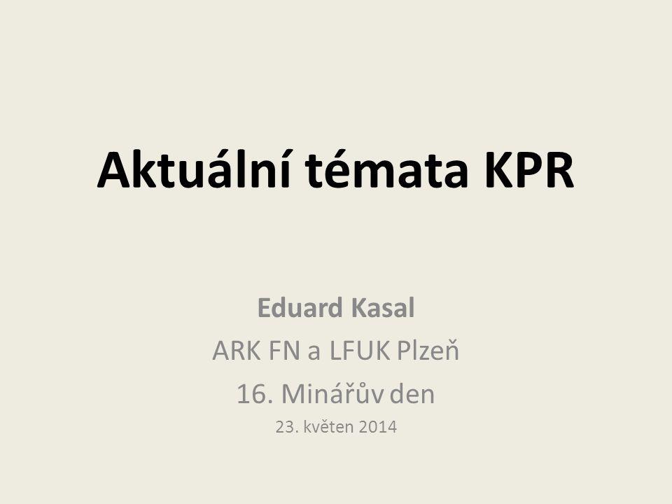 Eduard Kasal ARK FN a LFUK Plzeň 16. Minářův den 23. květen 2014