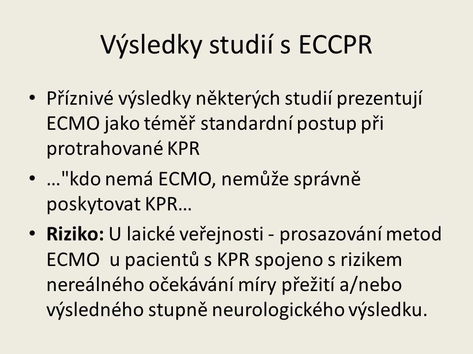 Výsledky studií s ECCPR