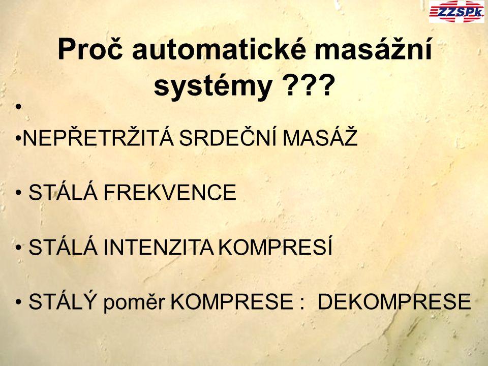 Proč automatické masážní systémy