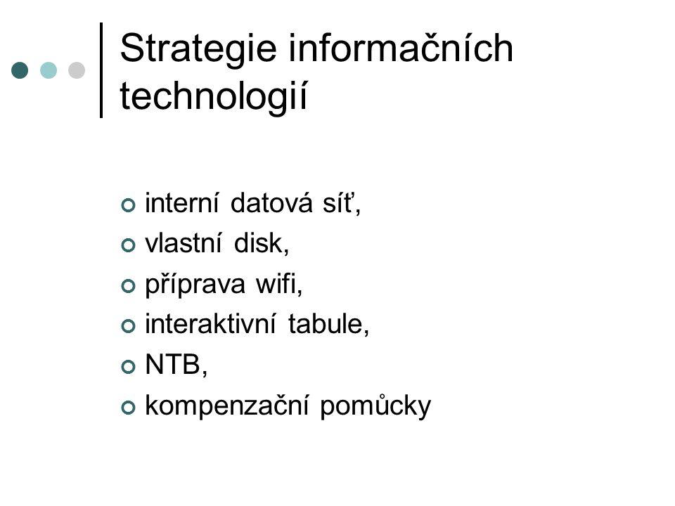 Strategie informačních technologií