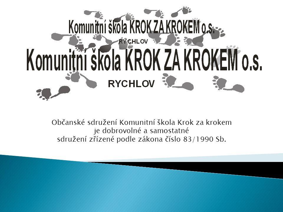 Občanské sdružení Komunitní škola Krok za krokem
