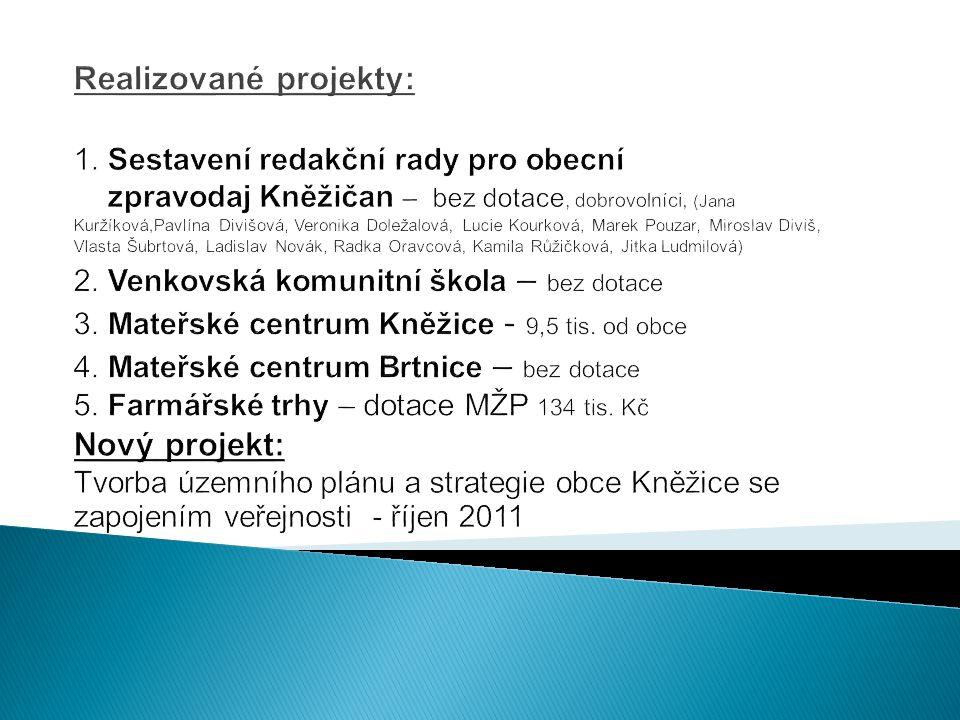 Realizované projekty: 1