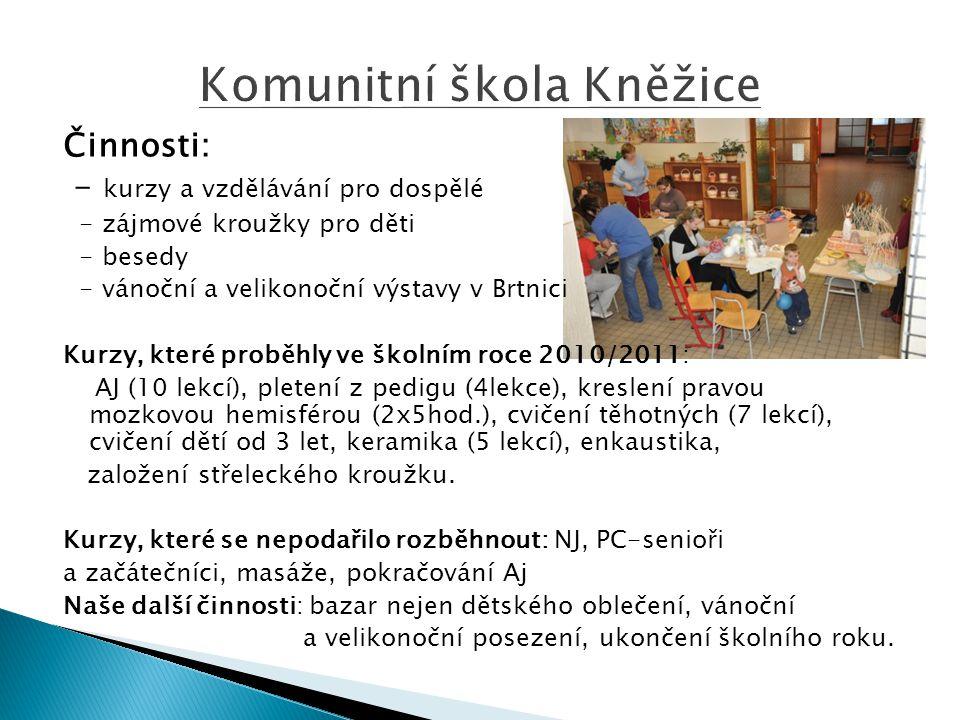 Komunitní škola Kněžice