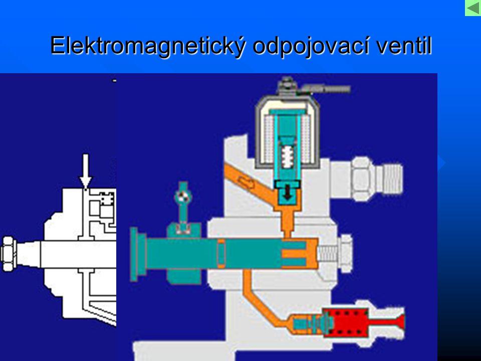 Elektromagnetický odpojovací ventil
