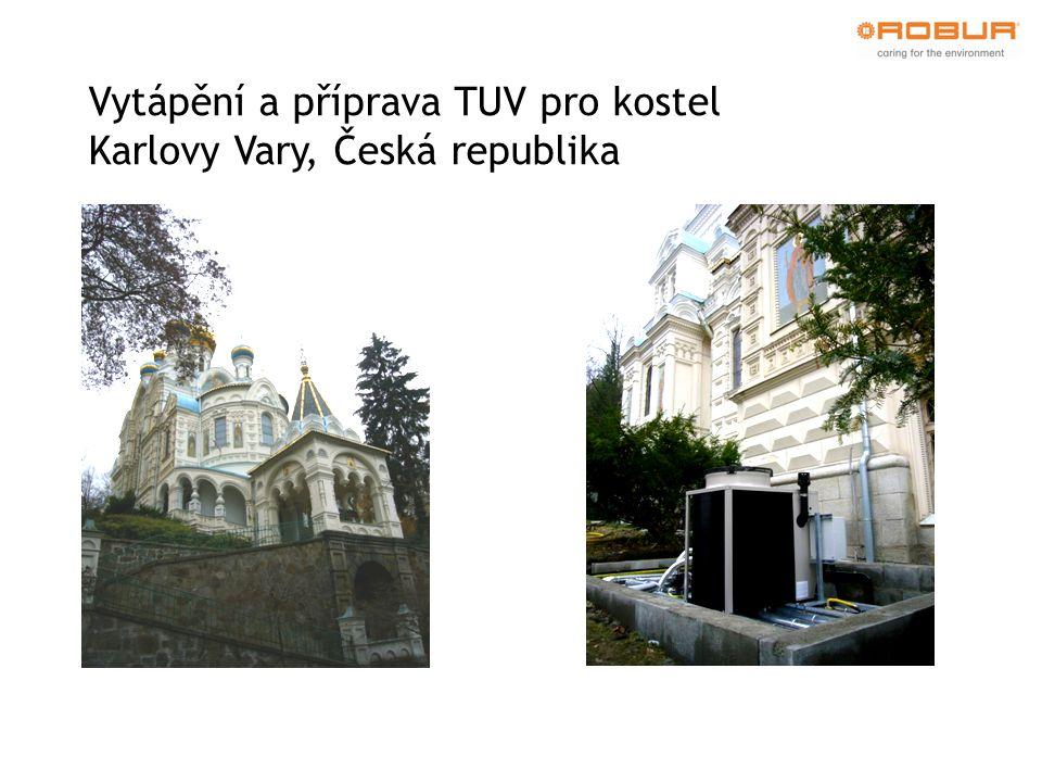 Vytápění a příprava TUV pro kostel